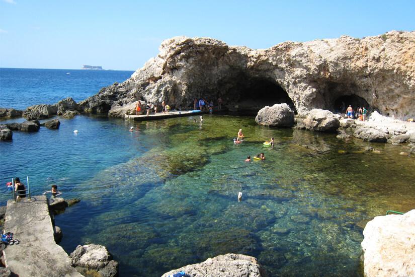 Ghar Lapsi auf Malta