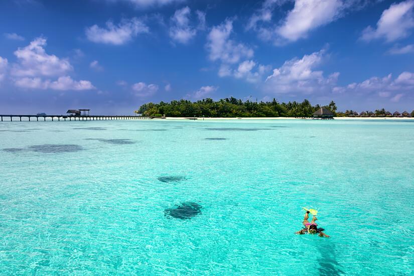 Schnorcheln vor den Malediven