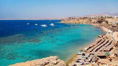 Strand in Sharm El Sheikh