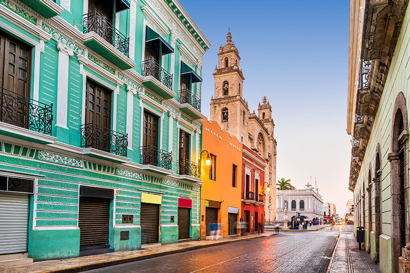 Sehenswerte Stadt Merida in Yucatán