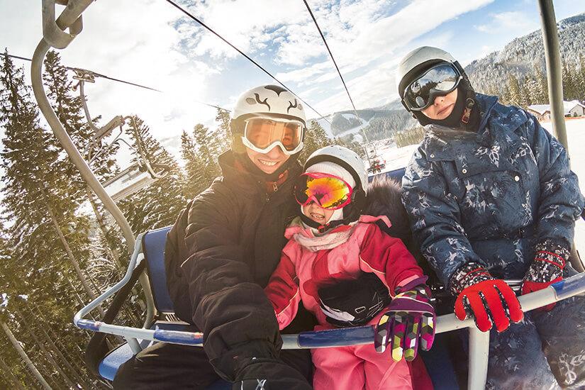 Sicher unterwegs im Skiurlaub