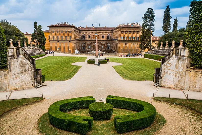 Palazzo Pitti und Garten