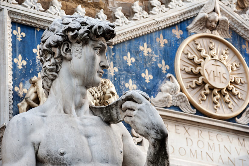 David-Statue von Michelangelo