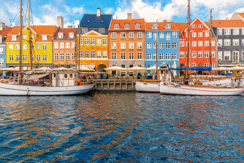 Bunte Häuser in Nyhavn