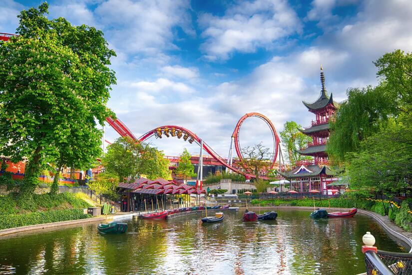 Der Tivoli in Kopenhagen ist weltberühmt