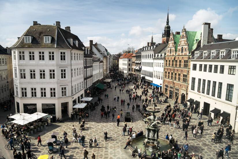 Amagertorv - der zentrale Platz in Kopenhagen