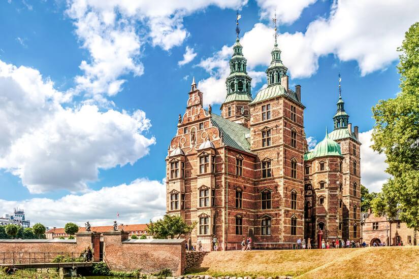 Das beeindruckende Schloss Rosenburg in Kopenhagen