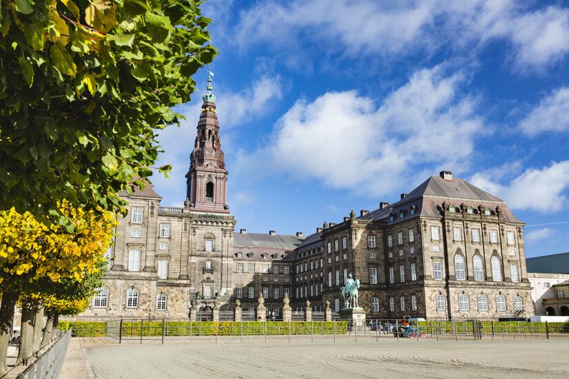 Schloss Christiansborg in Kopenhagen