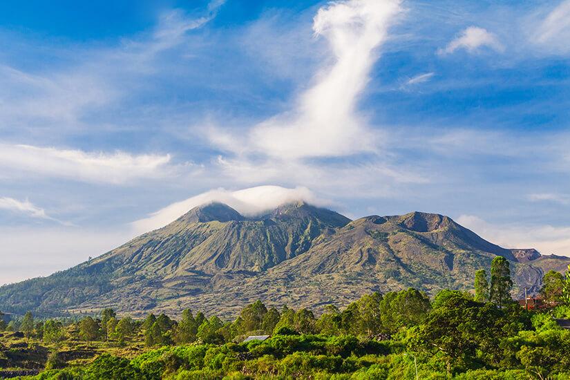 Vulkan Batur auf Bali