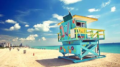 USA Florida Strand