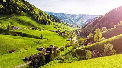 Schwarzwald Tal