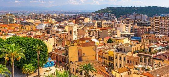 Lebendiges Cagliari auf Sardinien
