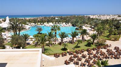 Hotel am Strand von Djerba
