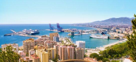 Málaga in Andalusien entdecken