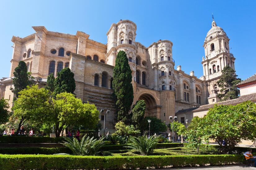 Die Kathedrale Málagas