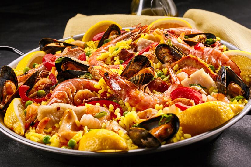 Auch in Málaga ist die Paella nicht wegzudenken