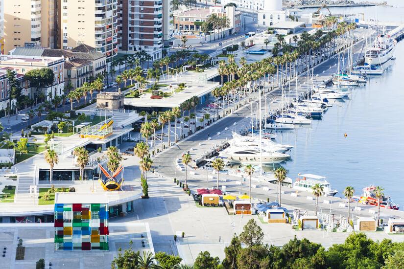 Die Hafenpromenade
