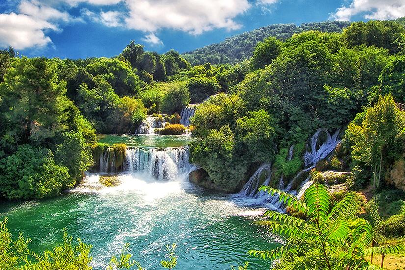 Wasserfälle im Krka-Nationalpark