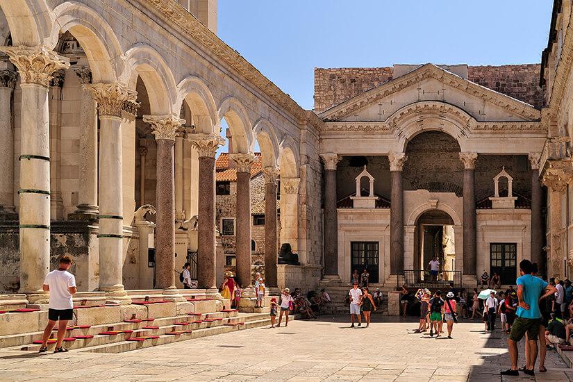 Im Diokletianpalast