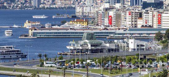 Izmir an der Türkischen Ägäis