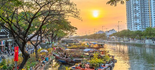 Ho Chi Minh Stadt (Saigon) erleben