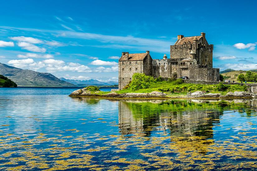 Eilean Donan Castle im schottischen Dornie