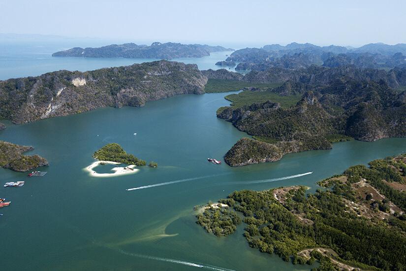 Luftaufnahme Kilim Geoforest Park
