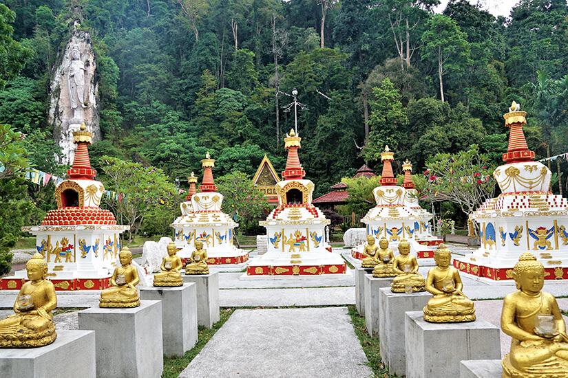 Tempel Wat Koh Wanararm auf Langkawi