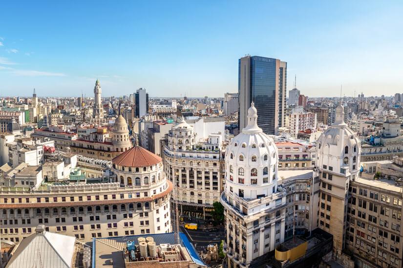 Blick über Buenos Aires