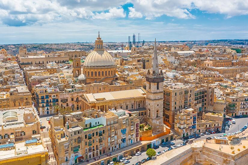 Valletta von oben