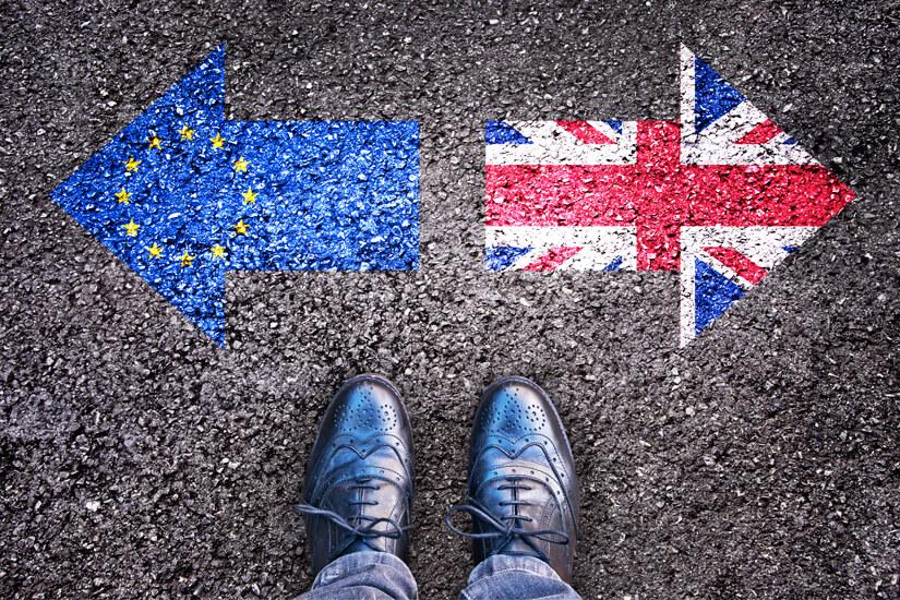 Brexit EU und Großbritannien gehen getrennte Wege