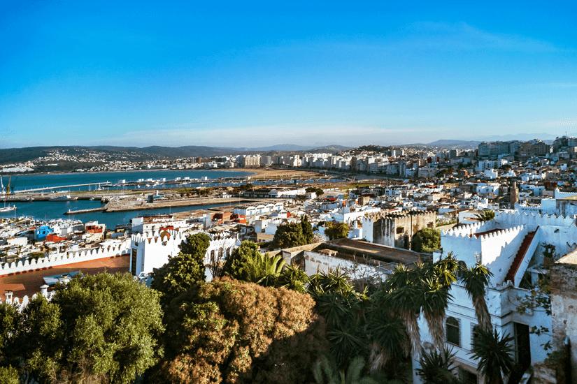 Blick auf die Medina von Tanger