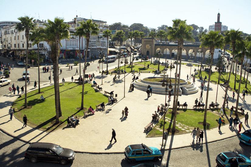 Grand Socco in Tanger