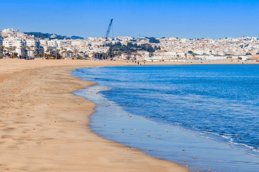 Stadtstrand von Tanger