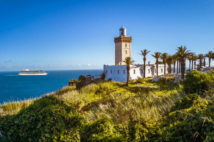 Leuchtturm am Kap Spartel