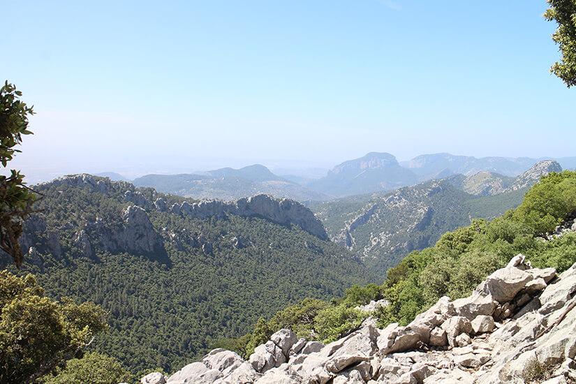 Ausblick von Lluc nach Massanella