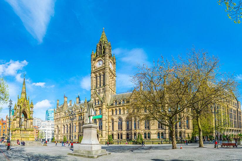 Rathaus von Manchester