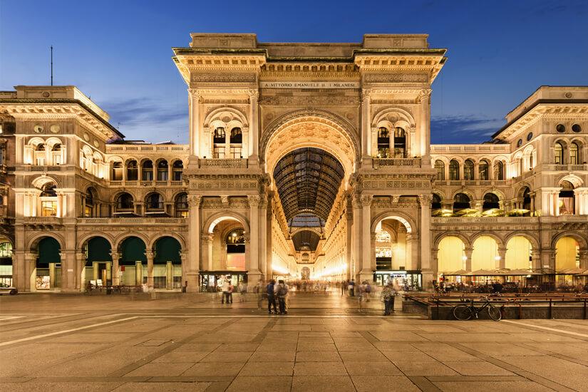 Shopping in der Galleria Vittorio Emmanuele II