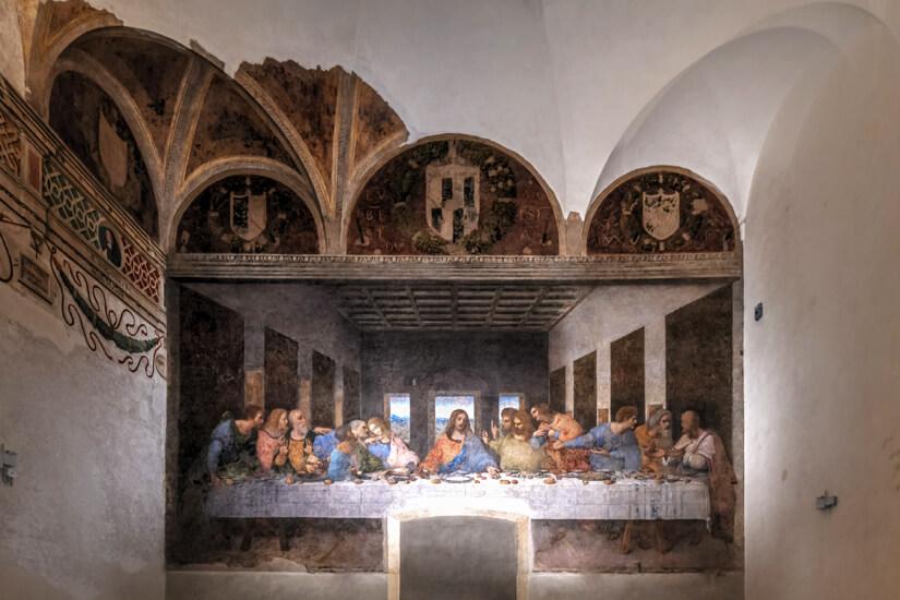 Das Abendmahl von Leonardo Da Vinci