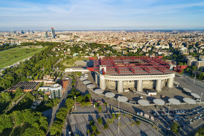 Giuseppe-Meazza-Stadion in Mailand