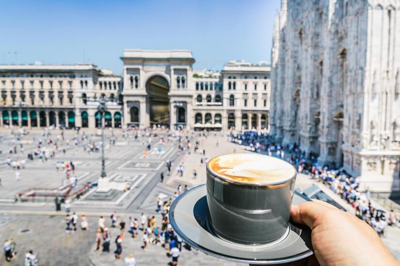 Cappuccino in Mailand