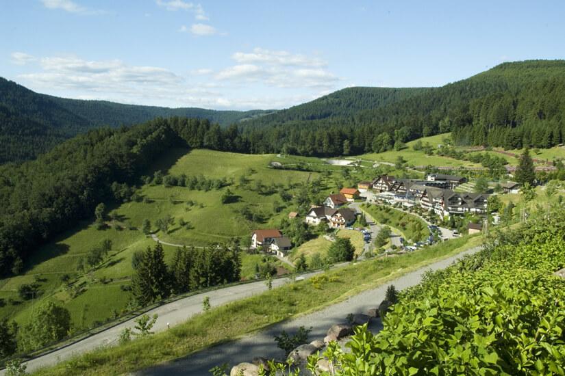 Schwarzwaldidylle bei bestem Wetter