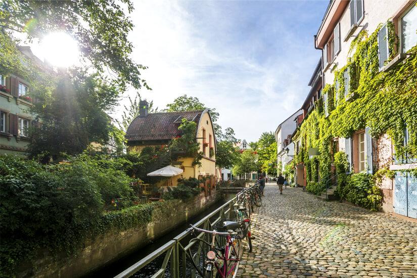 Historische Altstadt von Freiburg im Breisgau