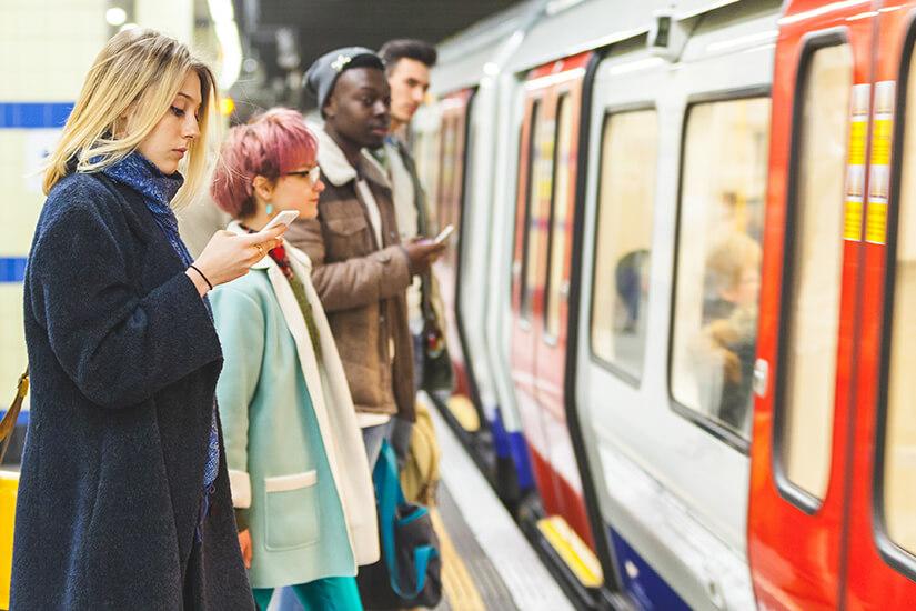 Schnell und günstig U-Bahn fahren in London
