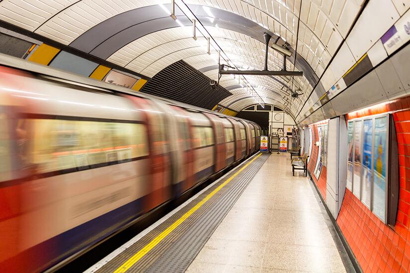 U-Bahn Station in London