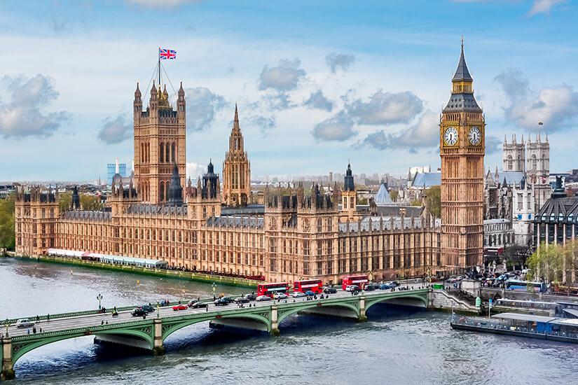 Westminster Palace und Big Ben