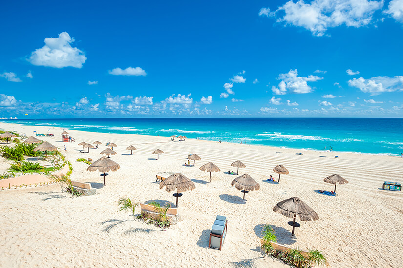 Traumstrand in Cancún
