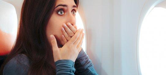 Was hilft gegen Pupsen im Flugzeug?