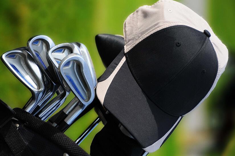 Golfschläger im Set