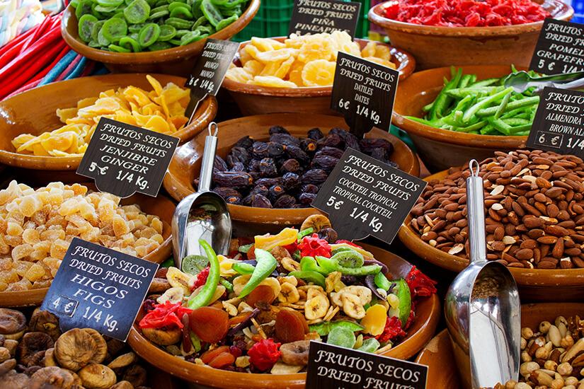Marktstand in Alcúdia